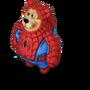Spider-bear deco
