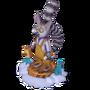 Lemur sculptor deco