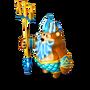 Bear Poseidon deco