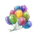 Balloons circus