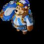 Bear parachuter deco