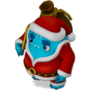 Space Santa deco
