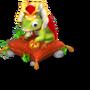 Frog prince deco
