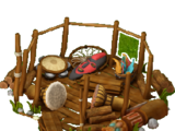 Shamanic yurt