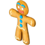 Gingerbread man gingerbread house deco