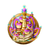Dream icon cloud castle