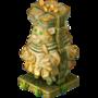 Maya statue deco
