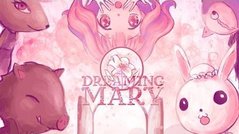 Dreaming Mary - Cute Horror Game, Manly Let's Play (All Endings)