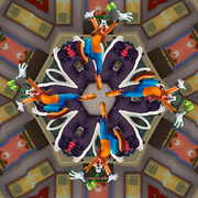 Kaleidoscope Goofy from Mickey Mouse Mixed-Up Adventures