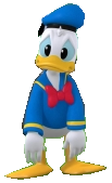 Donald Duck poses 2