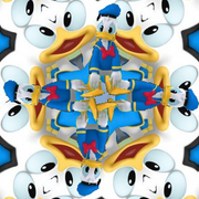 Kaleidoscope Donald Duck from Mickey Mouse Mixed-Up Adventures