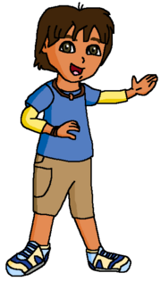 Pablo from Dora and Friends Into the City poses 2