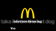 Mcdonalds 2003 spoof take it from the hot dog