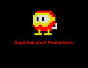 SuperVolcanoX Productions logo (Protoype Version)