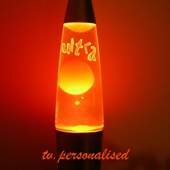Lava lamp ident, 2004. It looks like BBC Two's