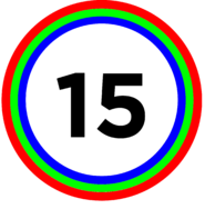 TheCuben2006 Channel 15 Years logo
