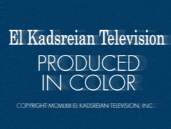 El Kadsreian Television (1963, Color, Neighbours Variant)