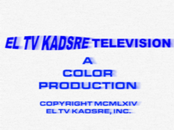 El TV Kadsre Television (Neighbours, 1964)