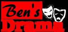 Ben's Drama logo old