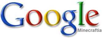 Google Minecraftia Logo 2000