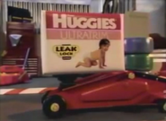 Huggies diapers circa 1994