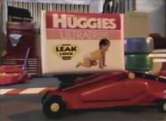 Huggies diapers circa 1994