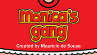 Monica's Gang current title card