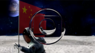 Rede Globo Glass Logo ident spoof on This Hour Has America's 22 Minutes - A Boy in a moon