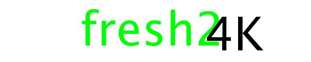 Fresh2 4K logo
