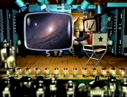 Nick at nite sign on bumper spoof from thha22m - milky way galaxy