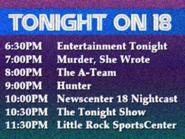 KWSB tonight 1985