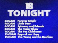 KWSB tonight Feb 1996