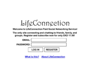 LifeConnection webpage 1987