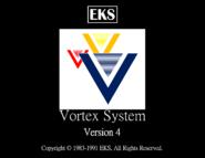 Vortex system 4 startup screen