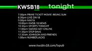 KWSB 18 lineup
