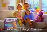Luvs diapers (Barney)
