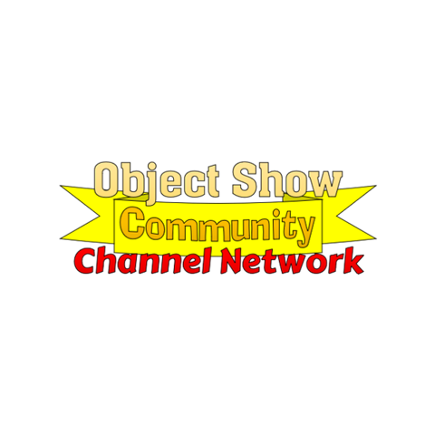 Object Show Channel Network text with Community banner