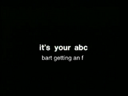 ABC Australia Ident Spoof - This Hour Has America's 22 Minutes - Bart Getting an F (2)