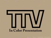 TTV ident 1957 color presentation