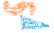 Nickelodeon ToonUp 1996 logo 2