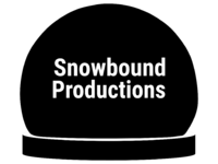 Snowbound Productions 1992 Print Logo
