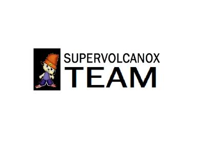 SuperVolcanoX Team Onscreen Logo