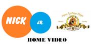 Nick JR MGM Home Video