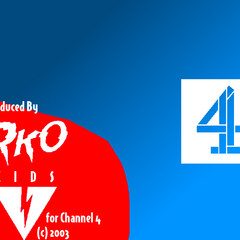 <i>RKO Kids/Channel 4</i> endboard in 2003.