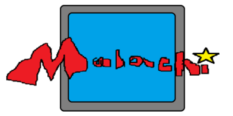 The Malachi Channel logo (1997-2002) (wo characters)