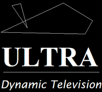 Ultra tv prelaunch logo 1995