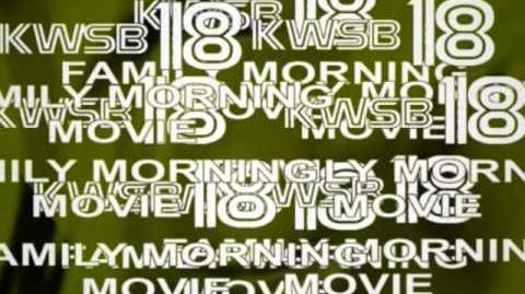 KWSB 18 Family Morning Movie open (November 2, 1997)