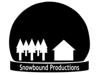 Snowbound Productions 1991 Print Logo