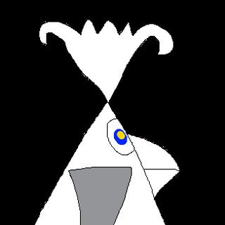 The station's mascot, Angellina.