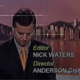 1992 screenbug for <i>RTV Evening News</i>